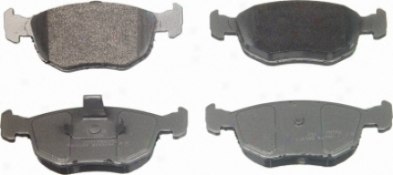 Wagner Mx762 Mx762 Ford Semi Metalic Thicket Pads