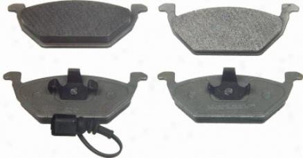 Wagner Mx768a Mx768a Volkswagen Semi Metalic Brake Pads