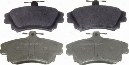 Wagner Mx837 Mx837 Volvo Semi Metalic Brake Pads