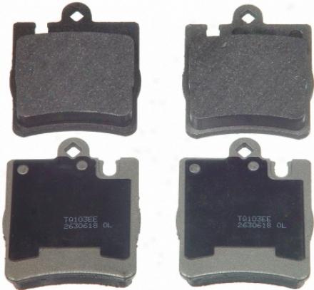 Wagner Mx876 Mx876 Volkswagen Semi Metalic Brake Pads