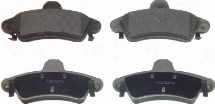Wagner Mx899a Mx899a Jaguar Semi Metalic Brake Pads