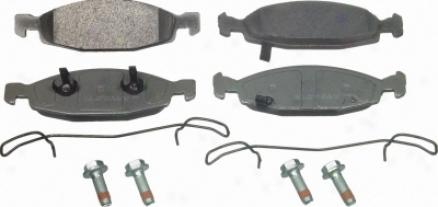 Wagner Mx942 Mx942 Honda Semi Metaluc Brake Pads