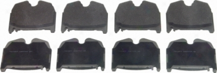 Wagner Mx983 Mx983 Mercedes-benz Semi Metalic Brake Pads