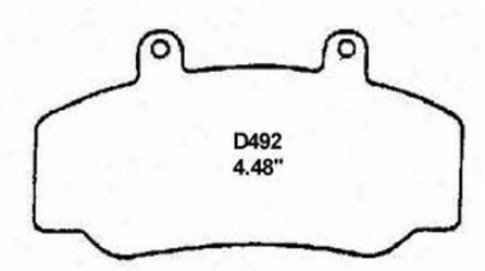 Wagner Pd492 Pd492 Honda Organic Brake Pads