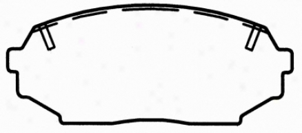Wagner Pd525 Pd525 Mitsubishi Organic Brake Pads