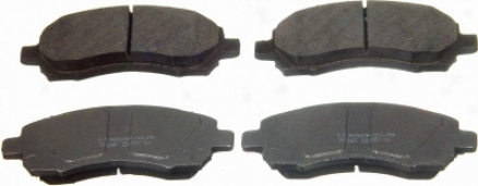 Wagner Pd722 Pd722 Daewoo Organic Brake Pads