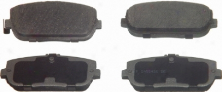 Wagner Pd871 Pd871 Hyundai Organic Brake Pads