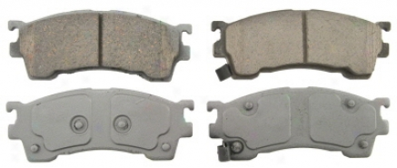 Wagner Qc637 Qc637 Mazda Ceramic Brake Pads