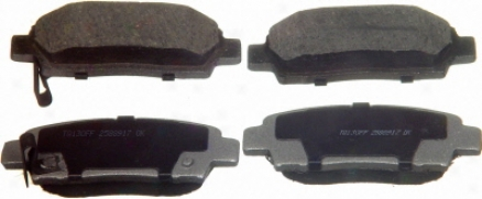 Wagner Qc672 Qc672 Chevrolet Ceramic Brake Pads