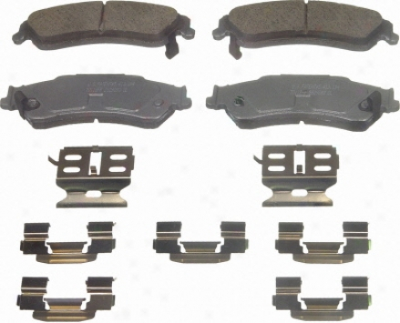 Wagner Qc729 Qc729 Dodge Ceramic Brake Pads