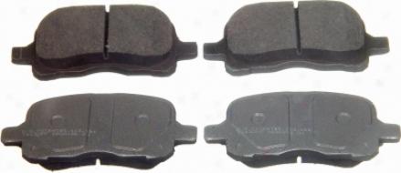 Wagner Qc741 Qc741 Pontiac Ceramic Brake Pads
