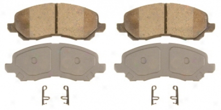Wagnwr Qc866 Qc866 Dodge Ceramic Brake Pads