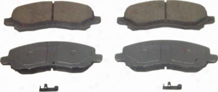 Wagner Qc866a Qc866a Mitsubishi Ceramic Brake Pads