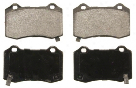 Wagner Sx1053 Sx1053 Dodge Semi Metalic Brake Pads