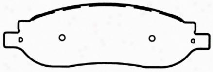Wagner Sx1068 Sx1068 Ford Semi Metalic Brake Pads