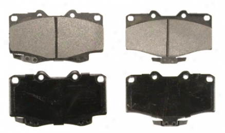 Wagner Sx436a Sx4366a Ford Semi Metalic Brake Pads