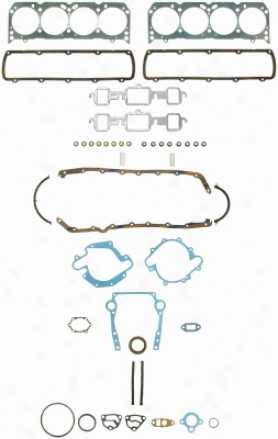 Felpro Fs 8507 Pt Fs8507pt Oldsmobile Overhaul Gasket Sets