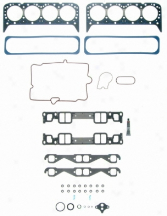 Felpro Hst 8510 Pt-6 Hst8510pt6 Pontiac Head Gasket Sets