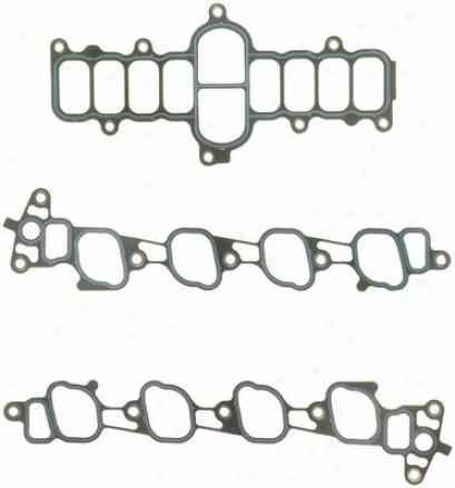 Felpro Ms 92121-2 Ms921212 Lincoln Manifold Gaskets Set