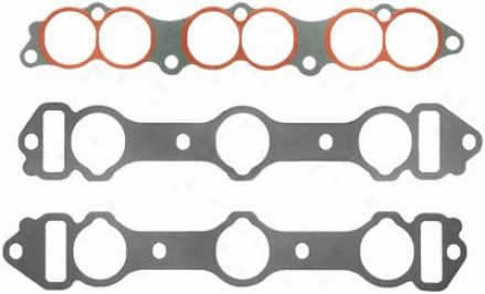 Felpro Ms 93795-3 Ms937953 Dodge Manifold Gaskets Set