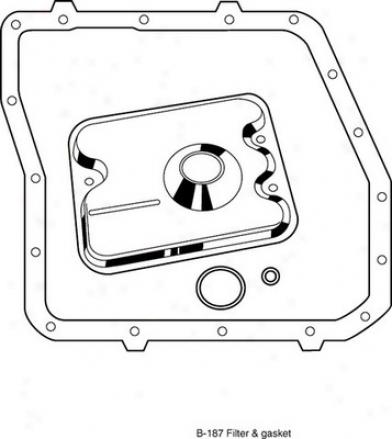 Atp B-187 B187 Ford Transmissiob Filters