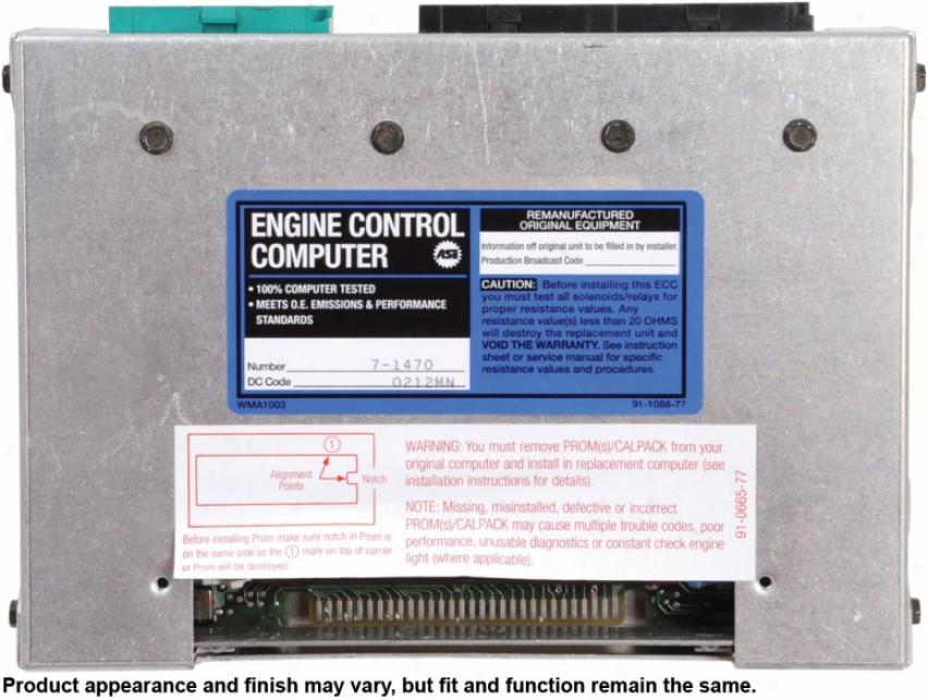 Cardone A1 Cardone 77-6387 776387 Chevrolet Ecu Computers