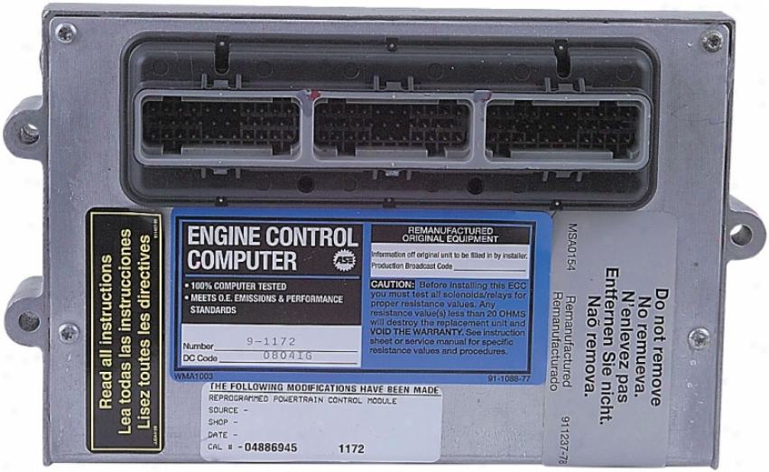 Cardone A1 Cardone 79-1172 791172 Jeep Ecu Computers