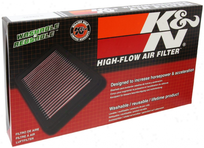 K&n Filter 332187 Hyundai Air Filters