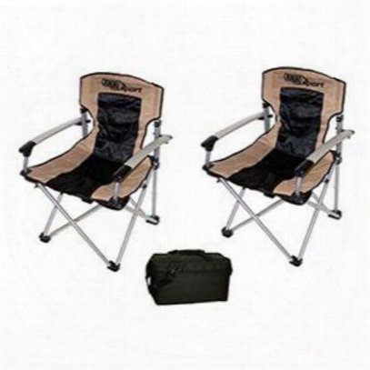 4wd Arb Camping Chairs And Aoc 24-pack Cooler Pak - Camppkg2