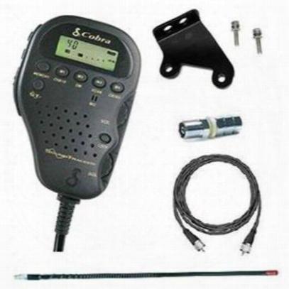 4wd Cobra Cb Radio 75wxst Jk Pak - Cb75jkpkg
