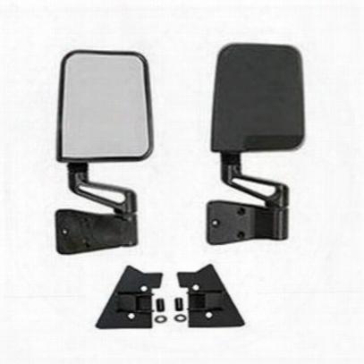 4wd Tj Doorless Mirror Pak (black) - Tjmirpkg