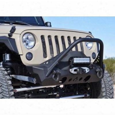 Artec Nighthawk Front Bumper With Mid Tube Stinger (bare) - Jk2303