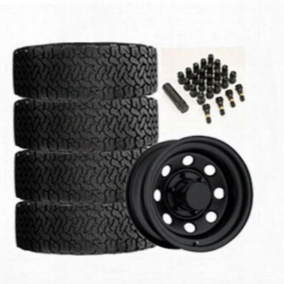 Genuine Packages Bf Goodrich All-terrain T/a Ko2 31x10.50r15 And Trail Master Tm9 15x8 Wheel Package - Set Of 4 - Tirepkg164