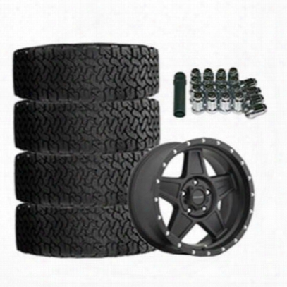 Genuine Packages Bf Goodrich All-terrain T/a Ko2 35x12.50r17 And Pro Comp Series 5035 Predator 17x9 Wheel Package - Set Of 4 - Tirepkg144