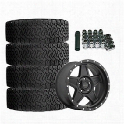 Genuine Packages Bf Goodrich All-terrain T/a Ko2 35x12.50r17 And Pro Comp Series 5035 Predator 17x9 Wheel Package - Set Of 4 - Tirepkg146