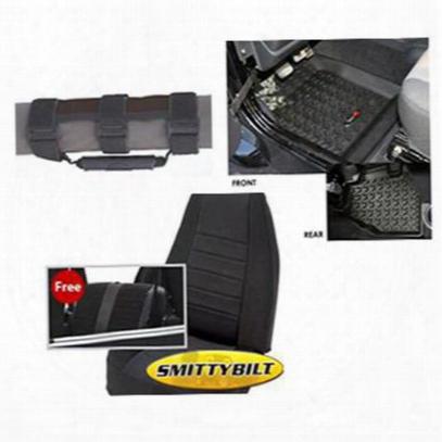 Genuine Packages Interior Pack (black) - 9702tjbint
