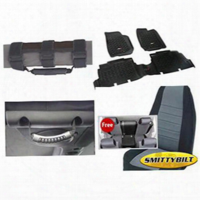Genuine Packages Interior Pack (black/gray) - 1316jk4dbg