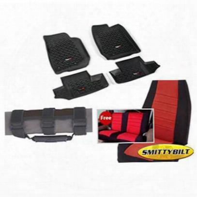 Genuine Packages Interior Pack (black/red) - 1316jk2dbr