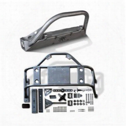 Genuine Packages Poison Spyder Brawler Front Bumper And Body Mounted Tire Carrier (bare) - Jkspecial13