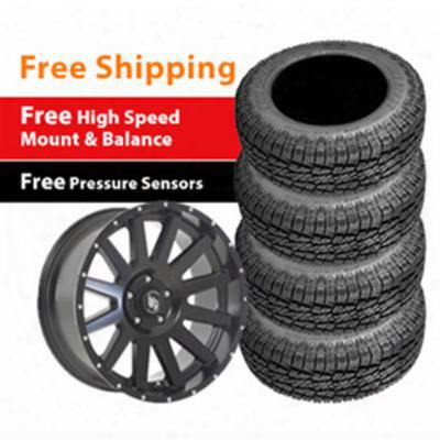 Genuine Packages Pro Comp A/t Sport 35x12.50r20lt And Lrg 107 20x9 Wheel Package - Set Of 4 - Tirepkg258