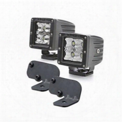 Genuine Packages Square Led Flood Lights With Brackets (black) - Ligjk07163