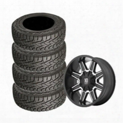 Genuine Packages Toyo 35x12.50r22 Open Country And Xd823 Wheel 22x10 Package - Set Of 4 - Tirepkg283