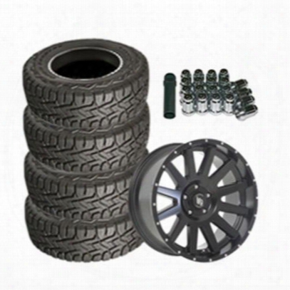 Genuine Packages Toyo Open Country R/t 35x12.50r20 And Lrg Rims Lrg107 20x9 Wheel Package - Set Of 4 - Tirepkg186