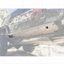 Artec Nighthawk Sliders Rock Guard Kit (Bare Aluminum) - JK2405