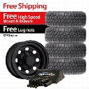 Genuine Packages Mickey Thompson Deegan 38 Mud Terrain 33x12.50R15LT and Trail Master TM9, 15x8 Wheel Package - Set of 4 - TIREPKG289