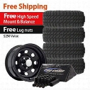 Genuine Packages Pro Comp XMT2 Tire 33x12.50R15 and Trail Master TM9 Wheels 15x8 Package - Set of 4 - TirePKG142