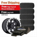 Genuine Packages Pro Comp Xtreme MT2 Tire 315/75R16 and Mickey Thompson Baja Lock Wheels 16x8 Package - Set of 5 - TirePKG121