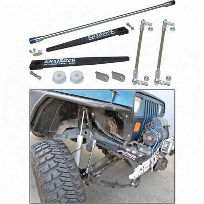Currie Antirock Front Sway Bar Kit - Ce-9900yjf