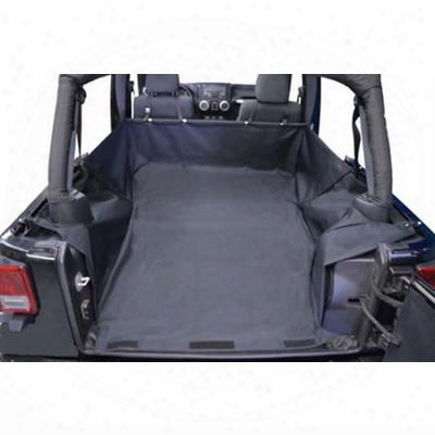 Dirtydog 4x4 Cargo Liner With Trench Cover, Black - D/dj4ctws0714
