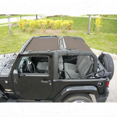 Dirtydog 4x4 Full Sun Screen, Sand - D/dj2ss07f2sd